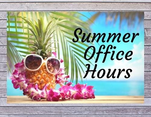 Summer Office Hours - Jody Richards Elementary