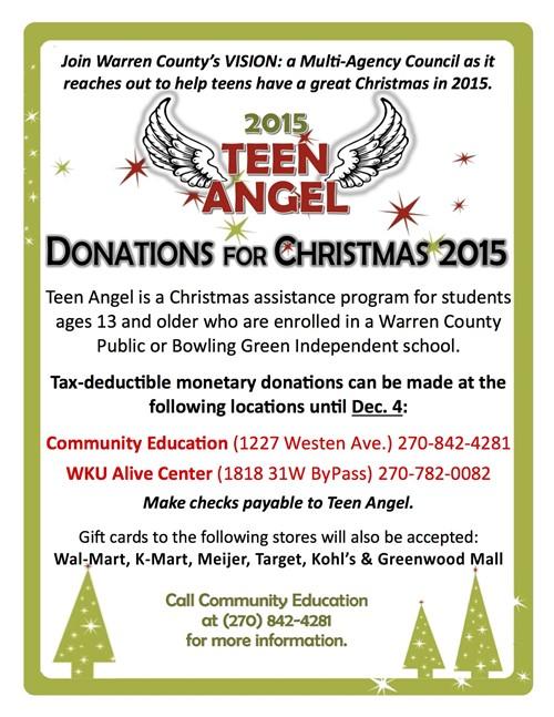 Teen Angel Information - Warren Central High School