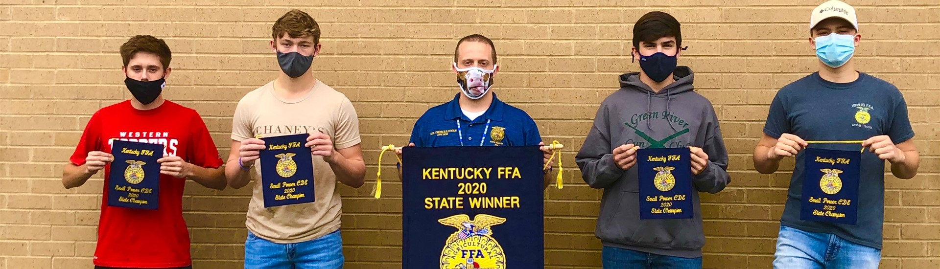 FFA Small Engine Team - 1st Place!