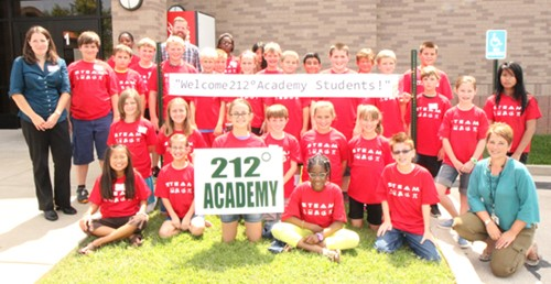 A new initiative in gifted education for Warren County Public Schools  (WCPS), 212° Academy, welcomed its first students August 26.